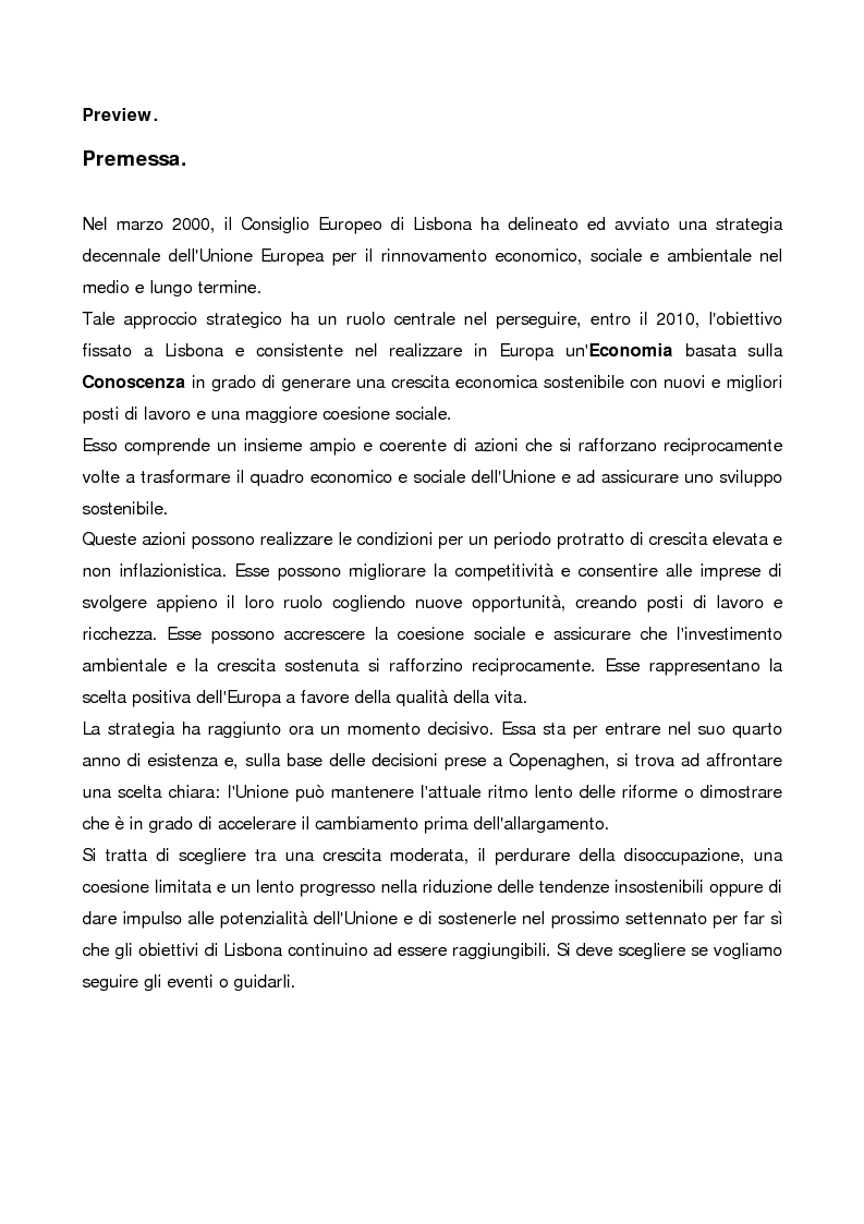 """Anteprima della tesi: Gli ''Intangibles"""" nella valutazione del patrimonio aziendale: il caso Eles Semiconductor Equipment S.p.A., Pagina 1"""