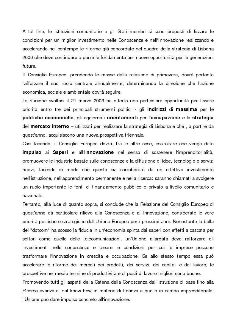 """Anteprima della tesi: Gli ''Intangibles"""" nella valutazione del patrimonio aziendale: il caso Eles Semiconductor Equipment S.p.A., Pagina 4"""