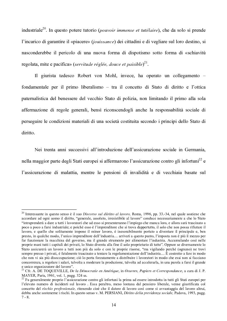 Anteprima della tesi: I diritti sociali nel settore sanitario, Pagina 10