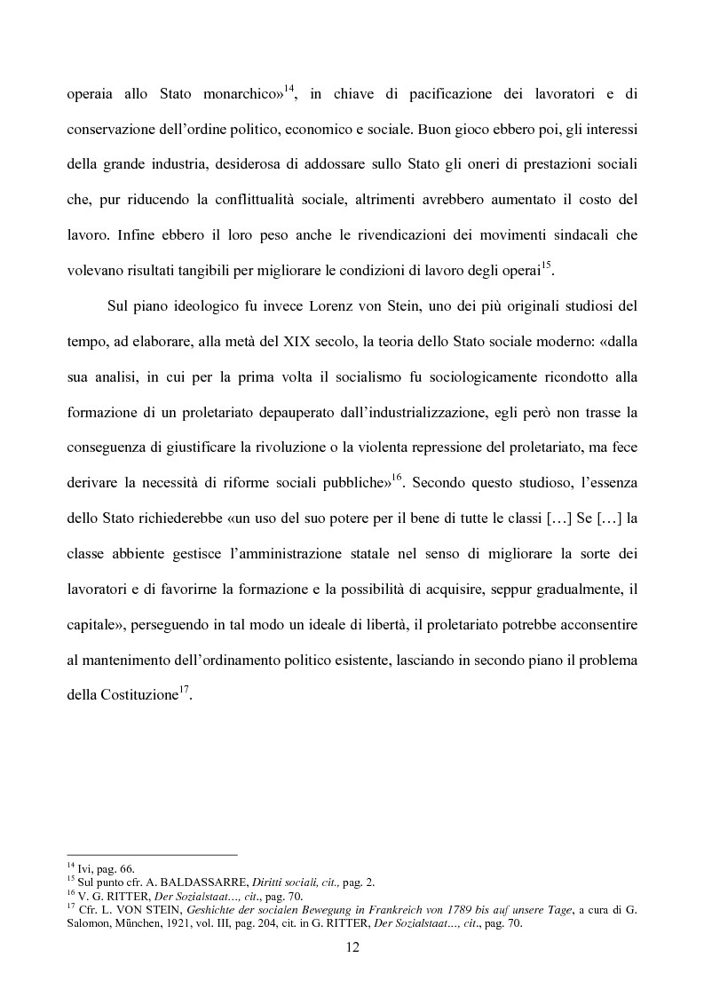 Anteprima della tesi: I diritti sociali nel settore sanitario, Pagina 8