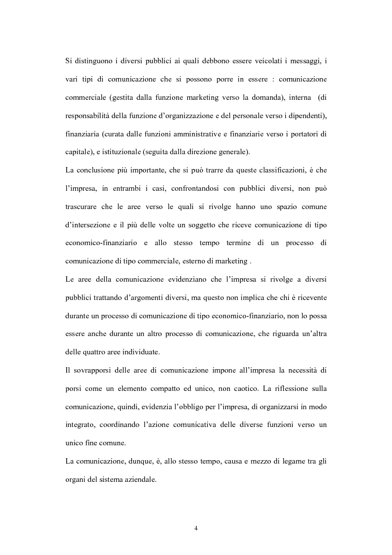 Anteprima della tesi: La comunicazione di marketing, Pagina 4