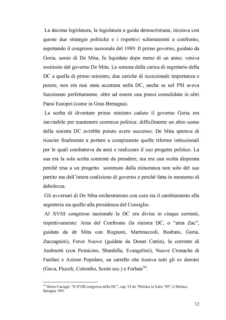 Anteprima della tesi: Il governo e i partiti italiani di fronte alla guerra del Golfo, Pagina 10
