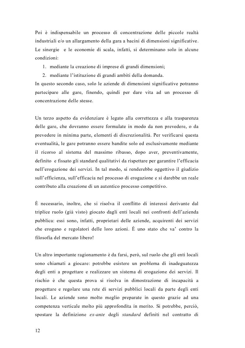 Anteprima della tesi: Liberalizzazione del mercato e cambiamento strategico ed organizzativo nel settore del trasporto pubblico locale, Pagina 7