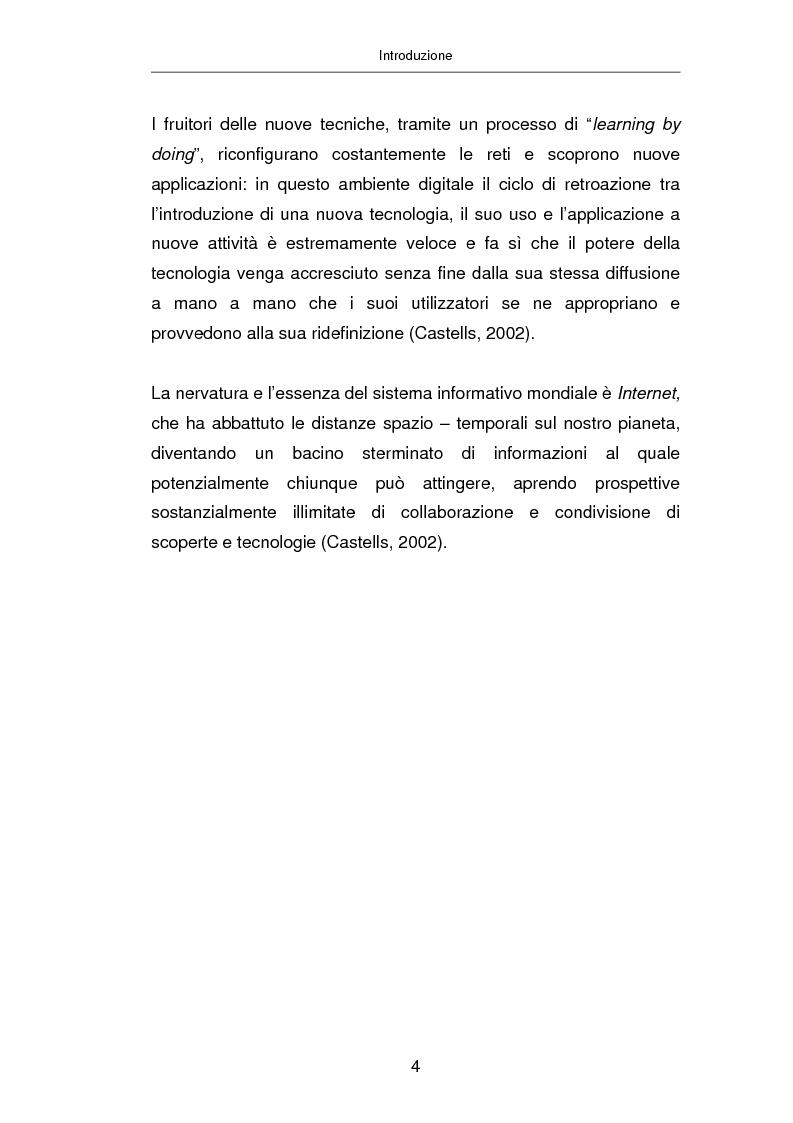 Anteprima della tesi: Advertising on line, Pagina 10
