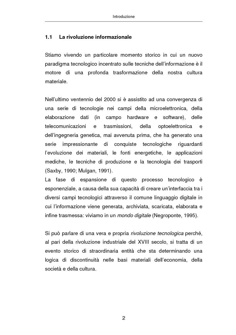 Anteprima della tesi: Advertising on line, Pagina 8
