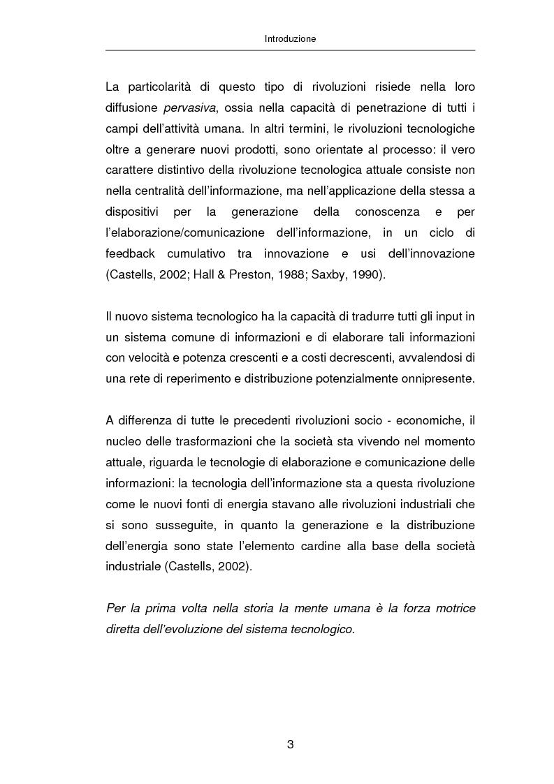 Anteprima della tesi: Advertising on line, Pagina 9