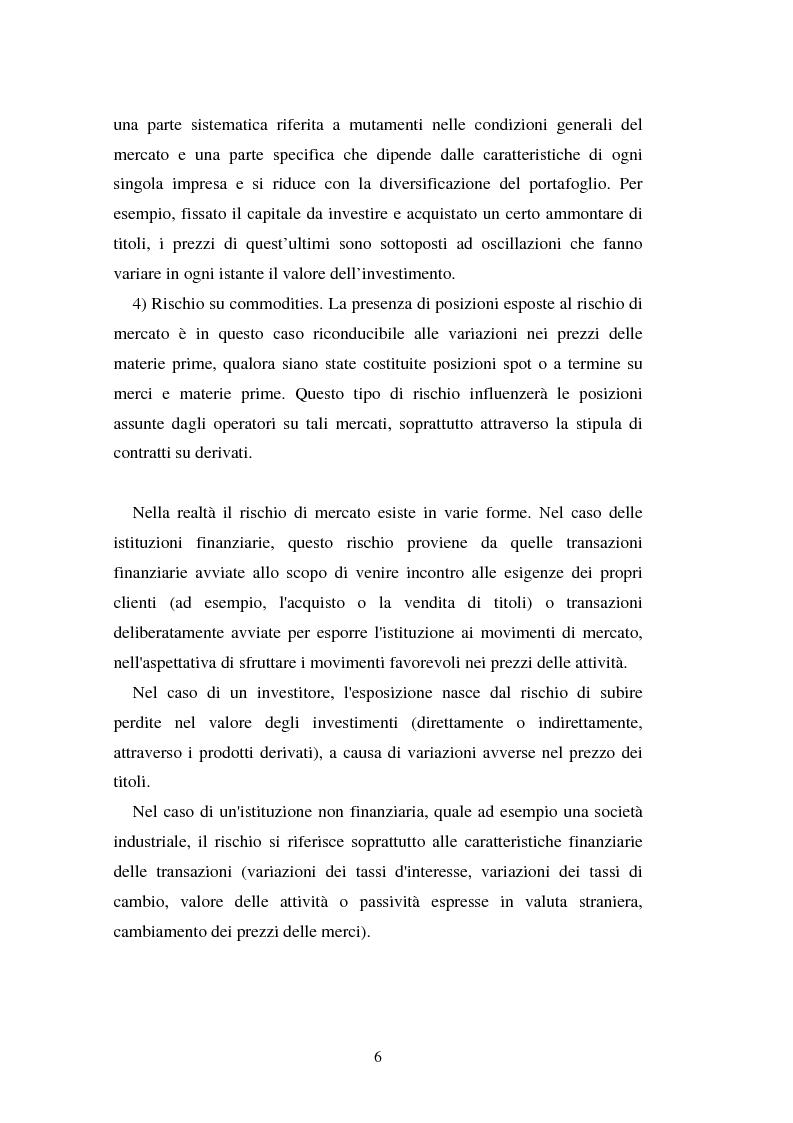 Anteprima della tesi: Metodi di simulazione storica per il calcolo del KiloVaR, Pagina 11