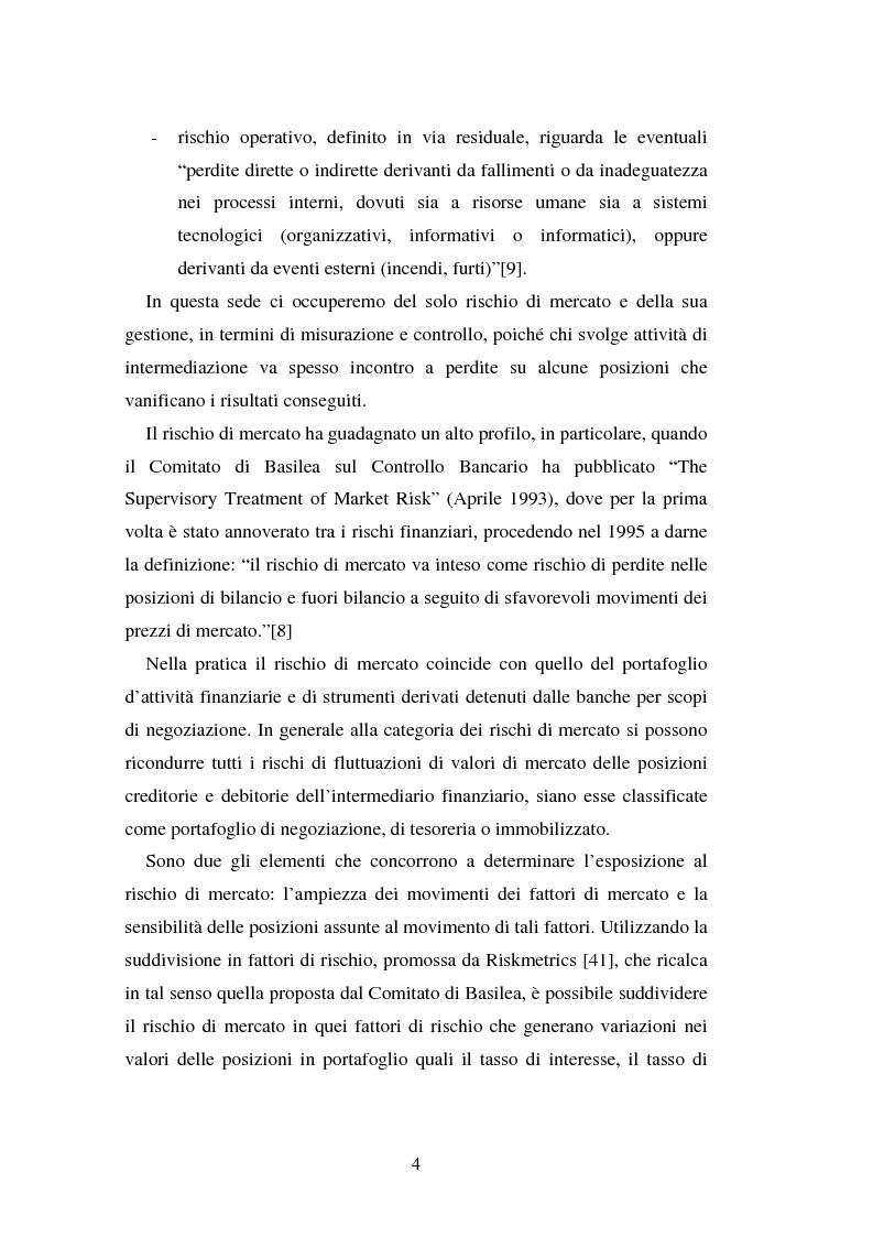 Anteprima della tesi: Metodi di simulazione storica per il calcolo del KiloVaR, Pagina 9
