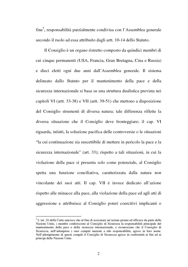 Anteprima della tesi: Il mantenimento della pace in Africa: la missione delle Nazioni Unite in Congo (MONUC), Pagina 10