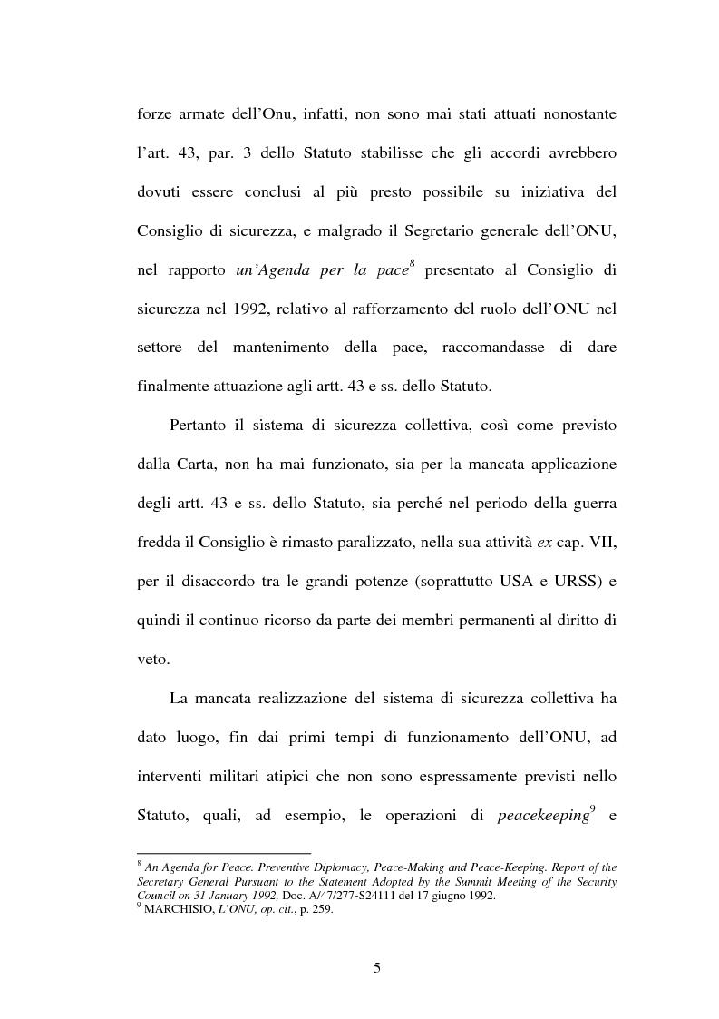 Anteprima della tesi: Il mantenimento della pace in Africa: la missione delle Nazioni Unite in Congo (MONUC), Pagina 13