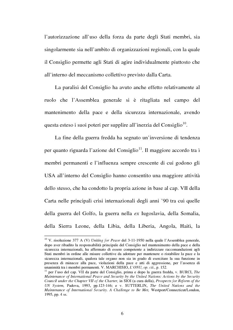 Anteprima della tesi: Il mantenimento della pace in Africa: la missione delle Nazioni Unite in Congo (MONUC), Pagina 14