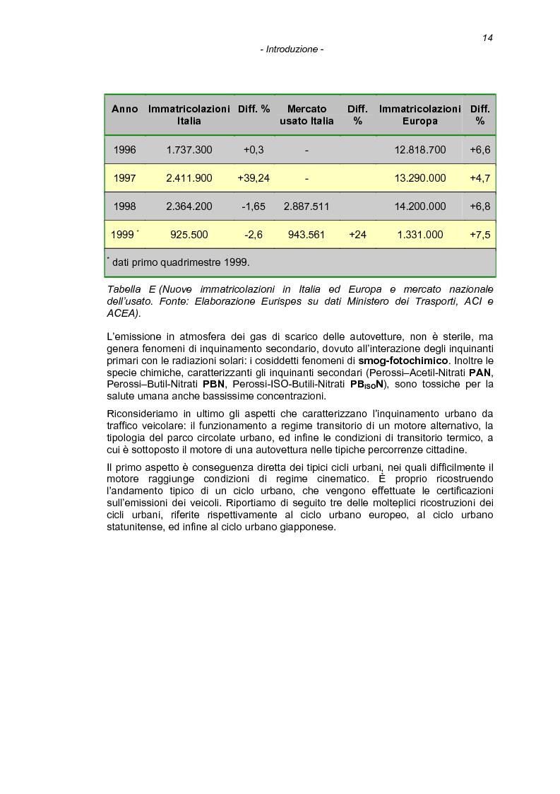 Anteprima della tesi: Il processo di combustione nei motori alternativi: sviluppo di procedure per lo studio delle emissioni di idrocarburi incombusti, Pagina 11