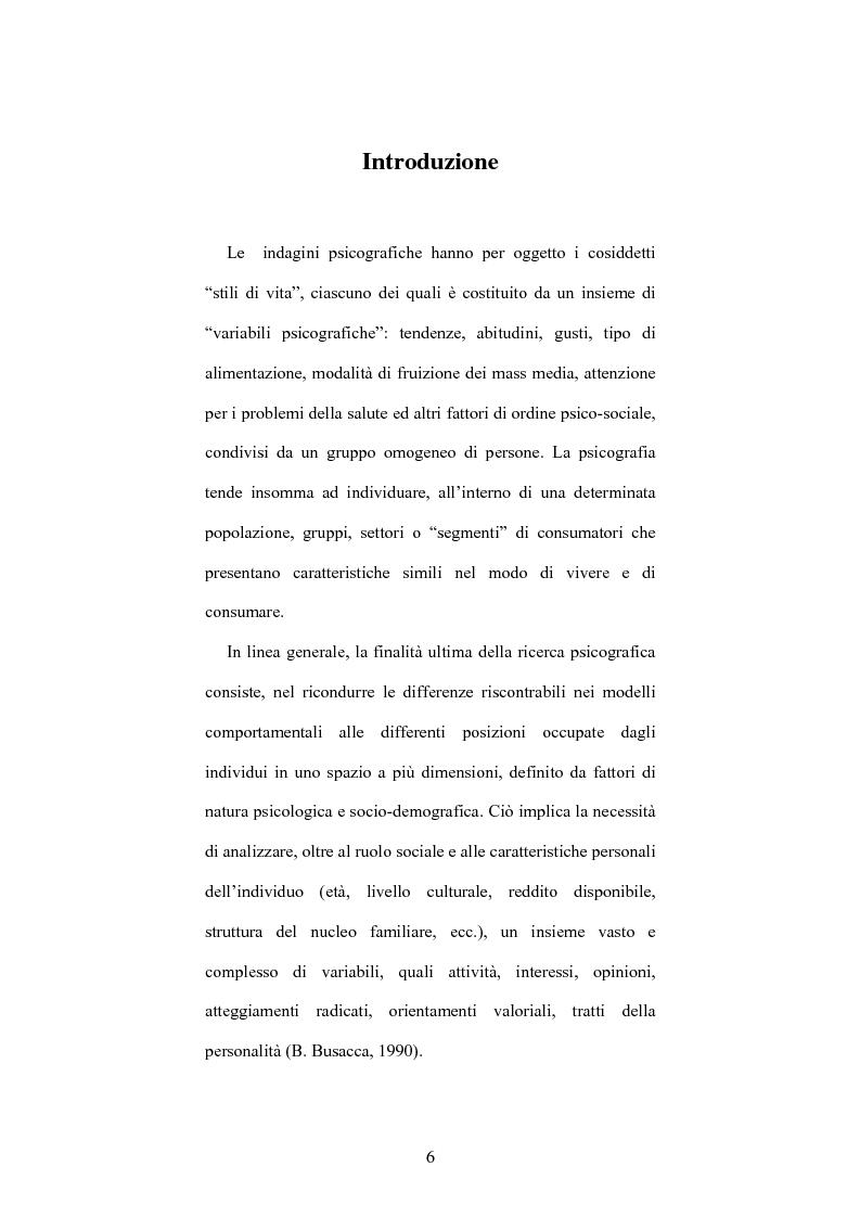 Anteprima della tesi: Le indagini psicografiche: teoria e pratica, Pagina 1