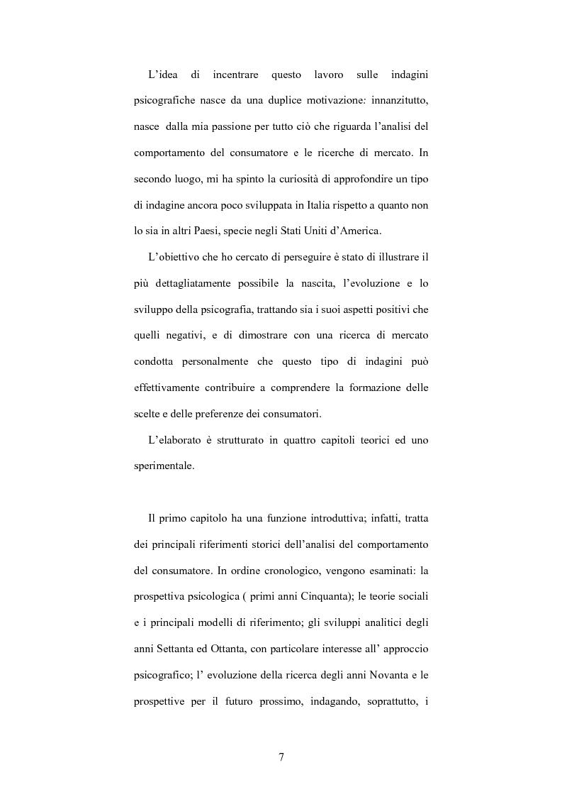 Anteprima della tesi: Le indagini psicografiche: teoria e pratica, Pagina 2