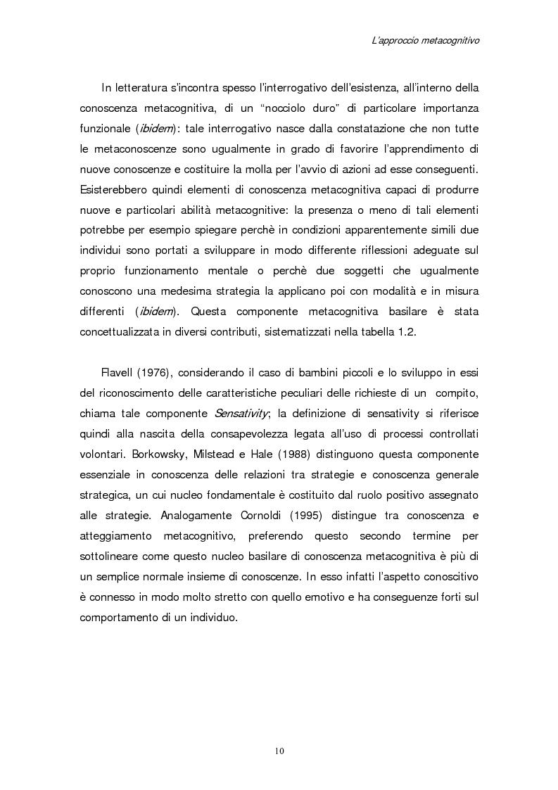 Anteprima della tesi: Apprendimento e motivazione allo studio negli studenti universitari, Pagina 8