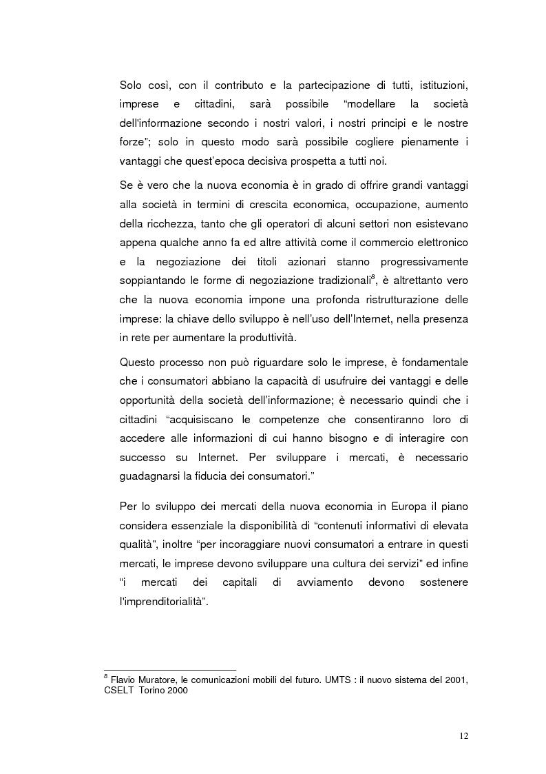 Anteprima della tesi: Mobile Internet e Pubblica Amministrazione, prospettive per l'eGovernment, Pagina 12