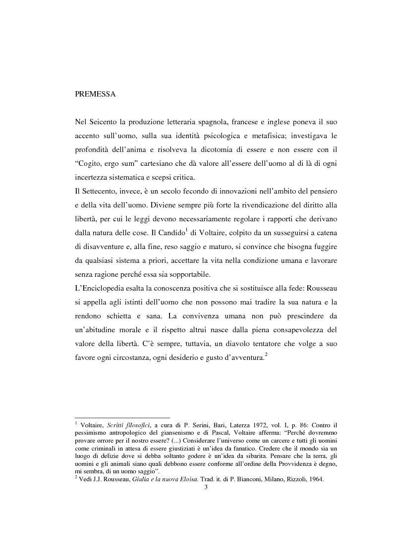 Anteprima della tesi: Lorenzo Da Ponte librettista: Don Giovanni tra opera e mito, Pagina 1