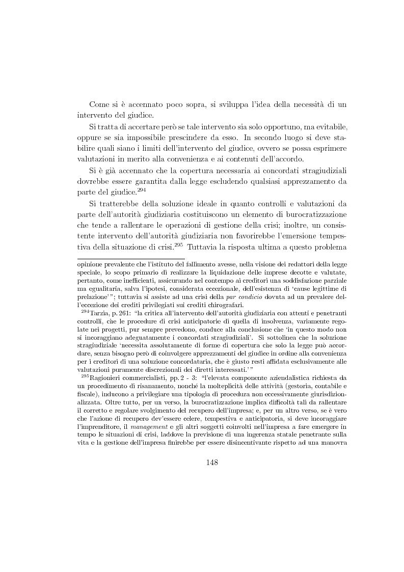 Anteprima della tesi: La composizione stragiudiziale dell'insolvenza e le prospettive di riforma, Pagina 8