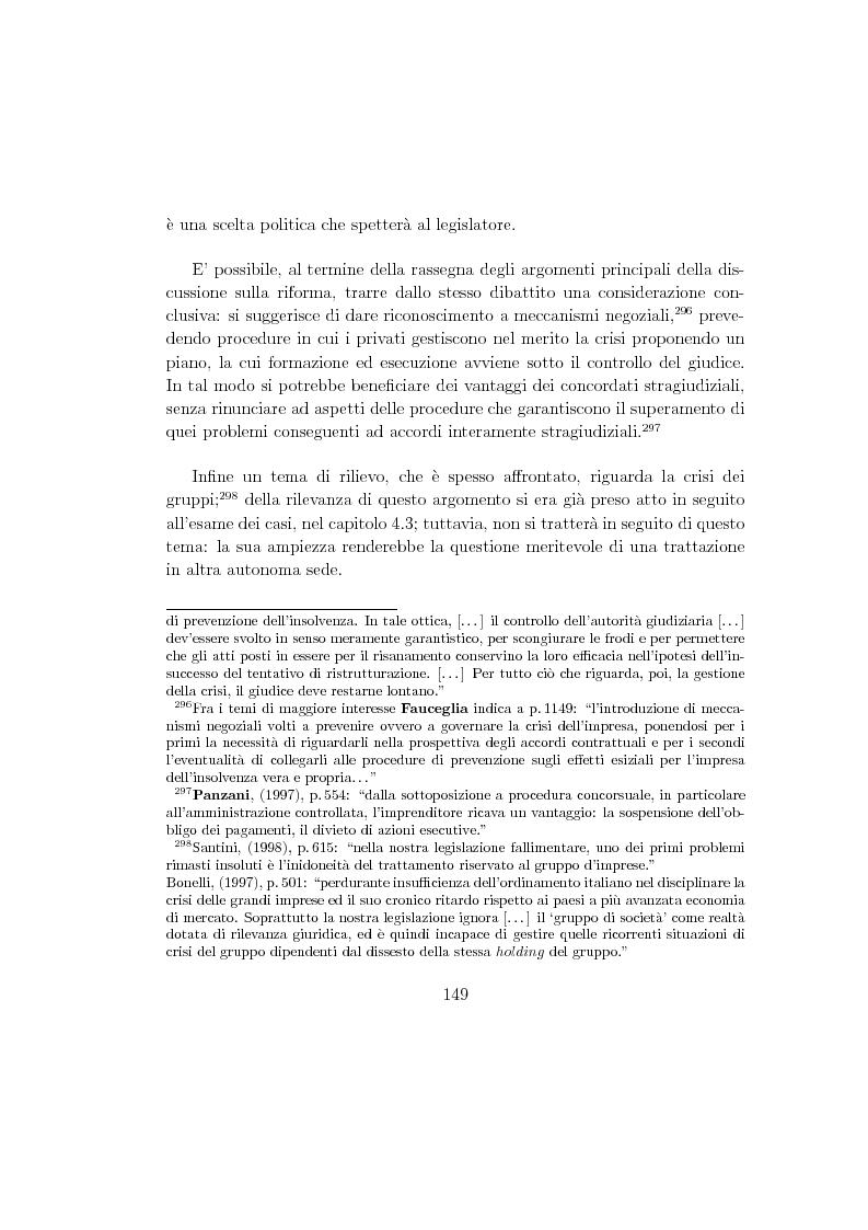 Anteprima della tesi: La composizione stragiudiziale dell'insolvenza e le prospettive di riforma, Pagina 9