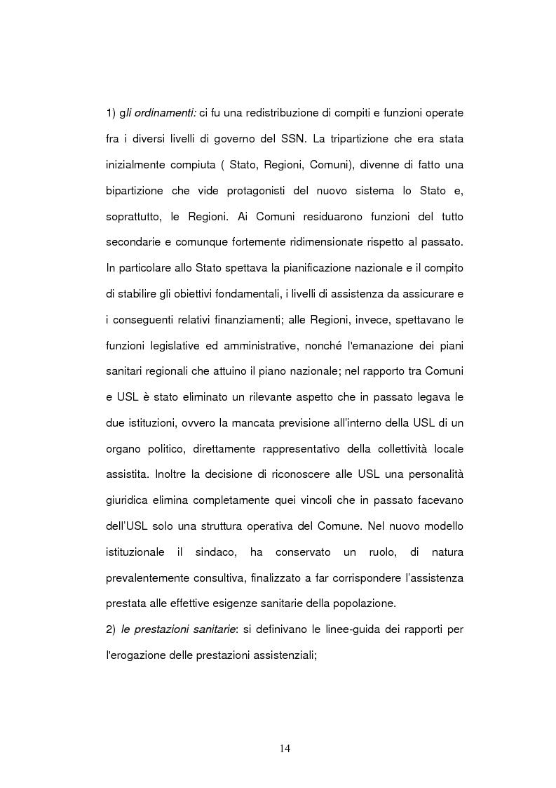 Anteprima della tesi: Il bilancio delle aziende sanitarie, Pagina 12