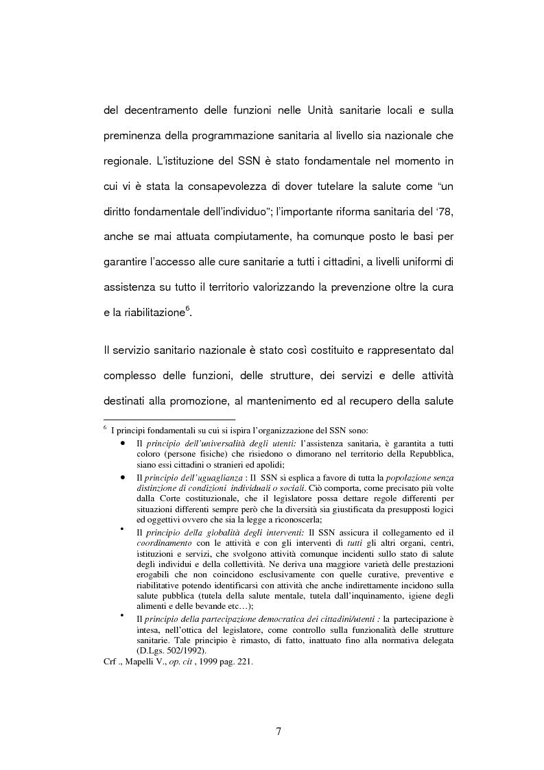 Anteprima della tesi: Il bilancio delle aziende sanitarie, Pagina 5