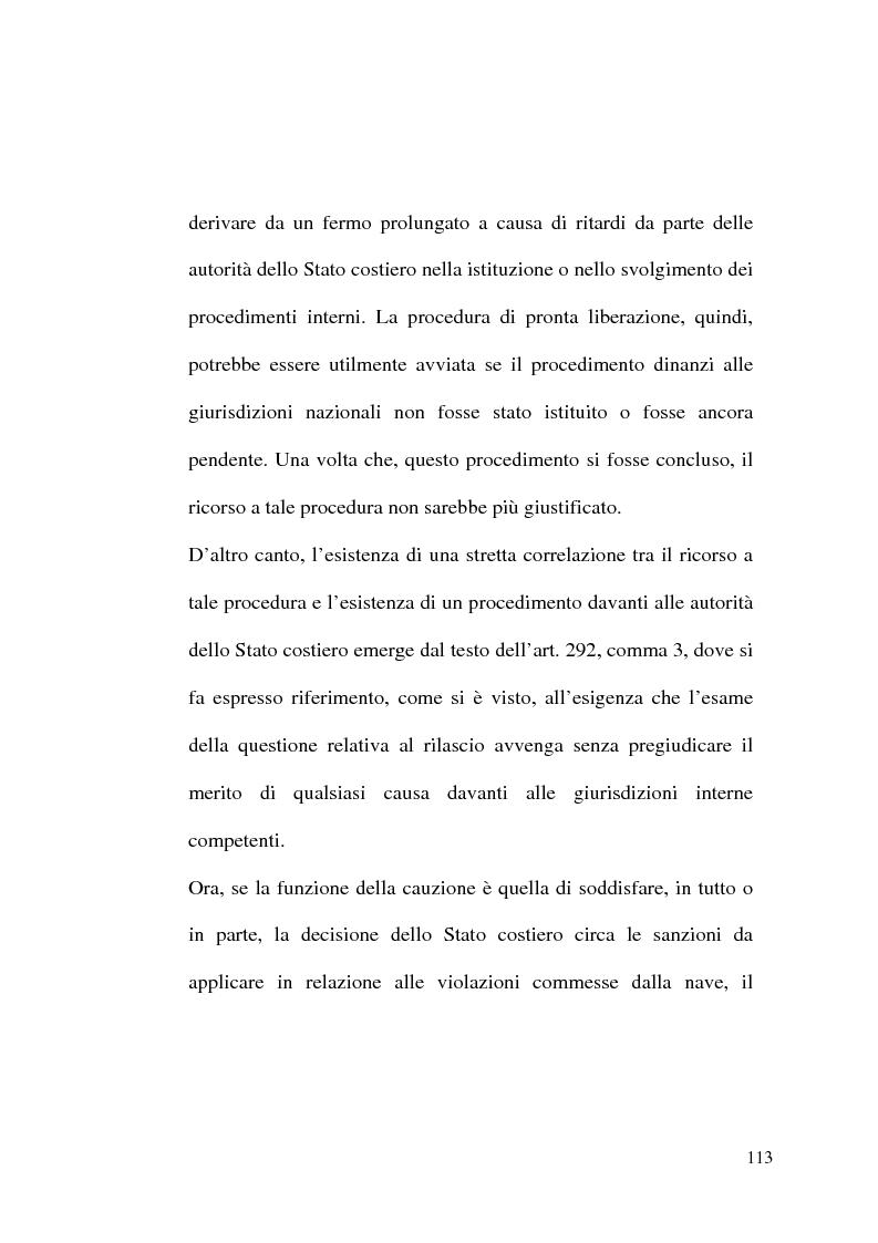 Anteprima della tesi: Il Tribunale Internazionale del Diritto del Mare: le prime sentenze, Pagina 13