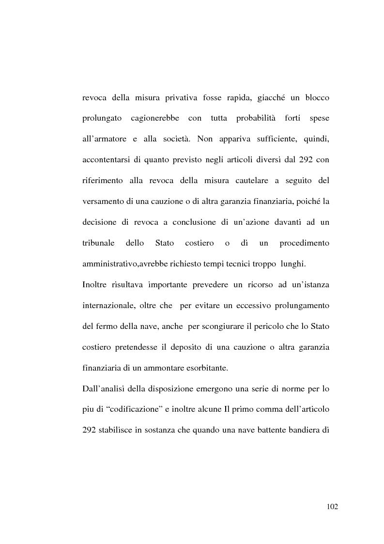 Anteprima della tesi: Il Tribunale Internazionale del Diritto del Mare: le prime sentenze, Pagina 2