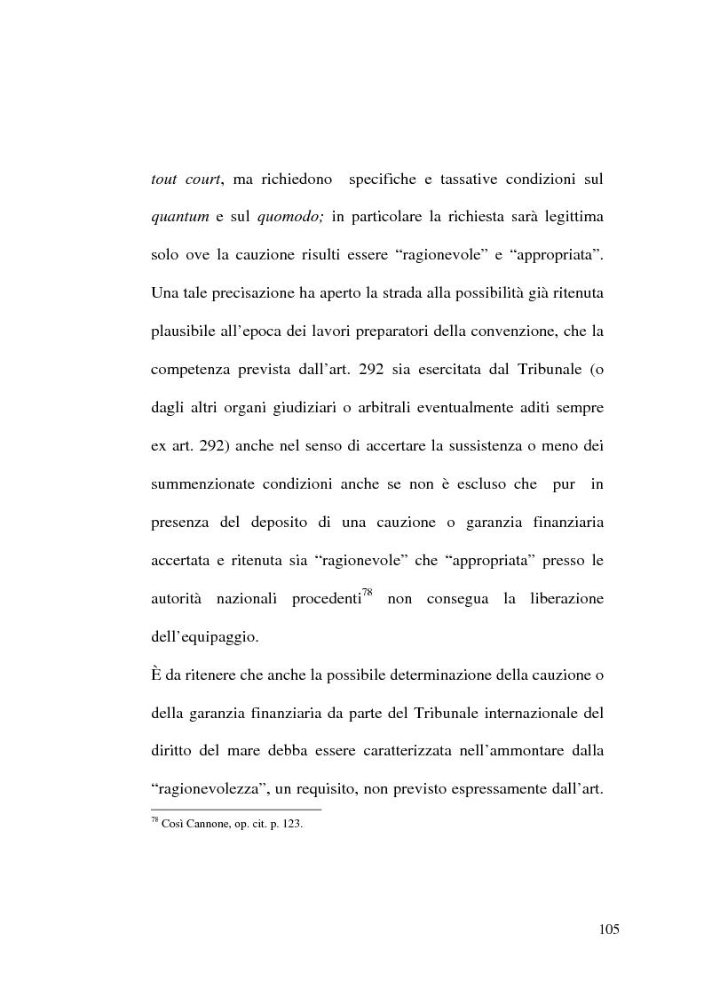 Anteprima della tesi: Il Tribunale Internazionale del Diritto del Mare: le prime sentenze, Pagina 5