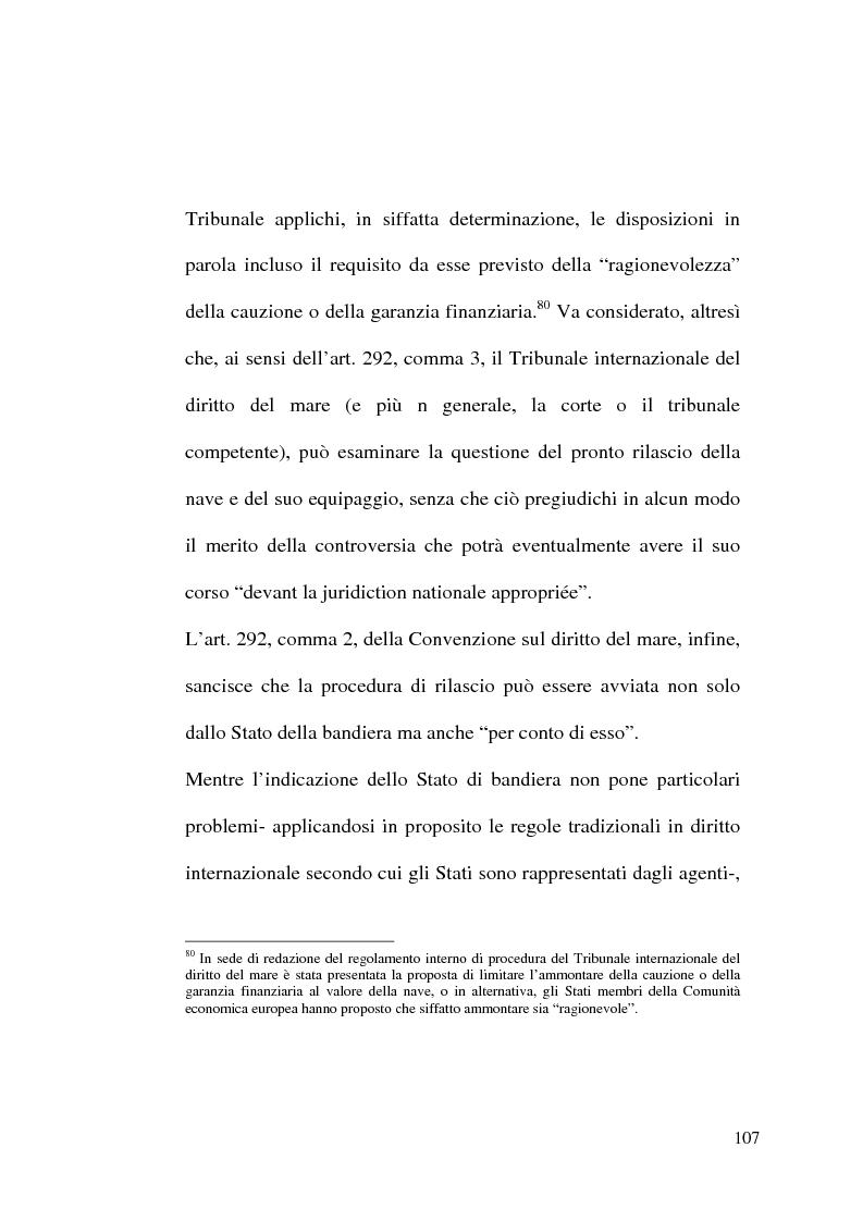 Anteprima della tesi: Il Tribunale Internazionale del Diritto del Mare: le prime sentenze, Pagina 7