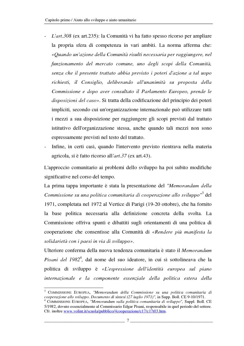 Anteprima della tesi: L'Unione europea e gli aiuti umanitari. La crisi dei Grandi Laghi, Pagina 7