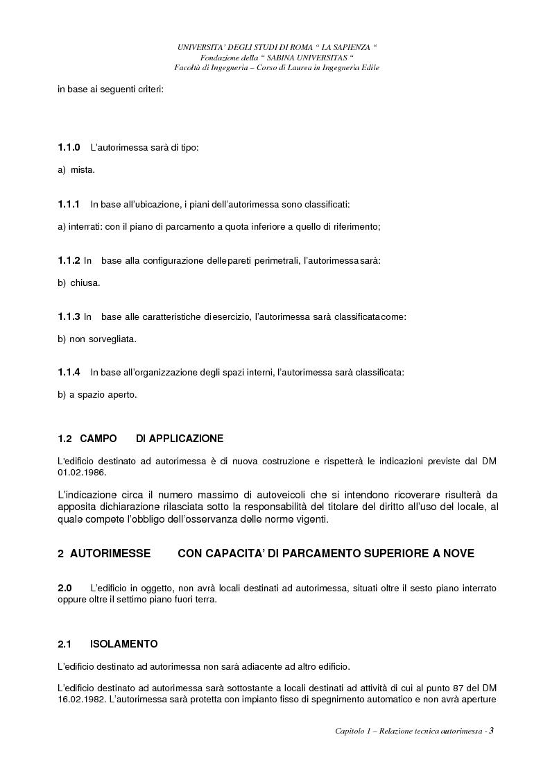 Anteprima della tesi: Aspetti degli impianti antincendio e meccanici di un edificio ad uso centro commerciale ed uffici, Pagina 3