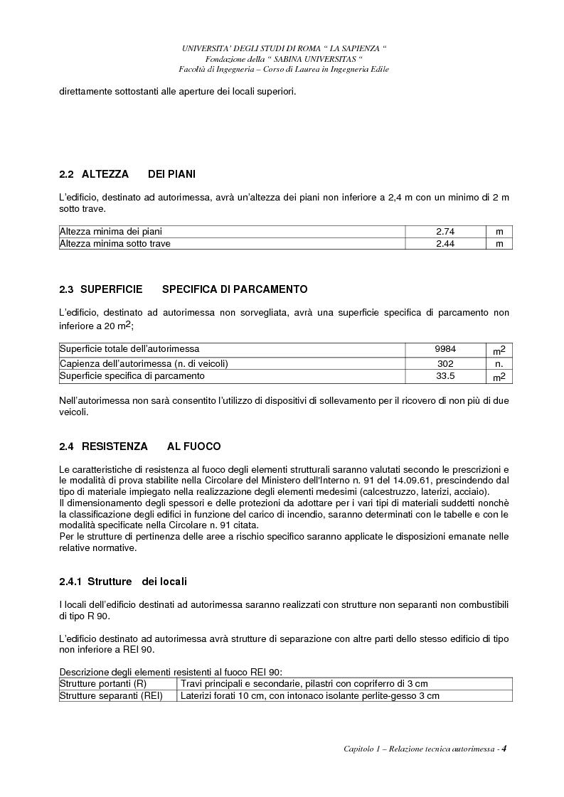 Anteprima della tesi: Aspetti degli impianti antincendio e meccanici di un edificio ad uso centro commerciale ed uffici, Pagina 4