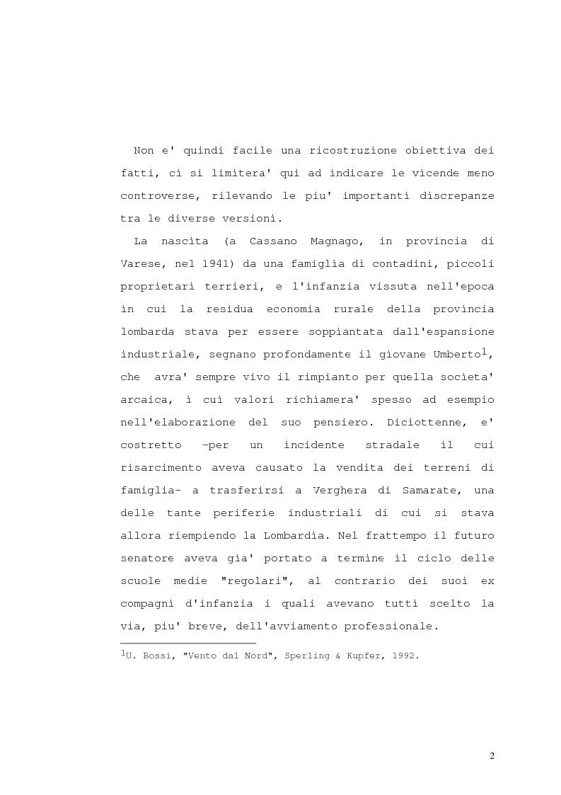 Anteprima della tesi: Lega Nord e problematiche sindacali, Pagina 7