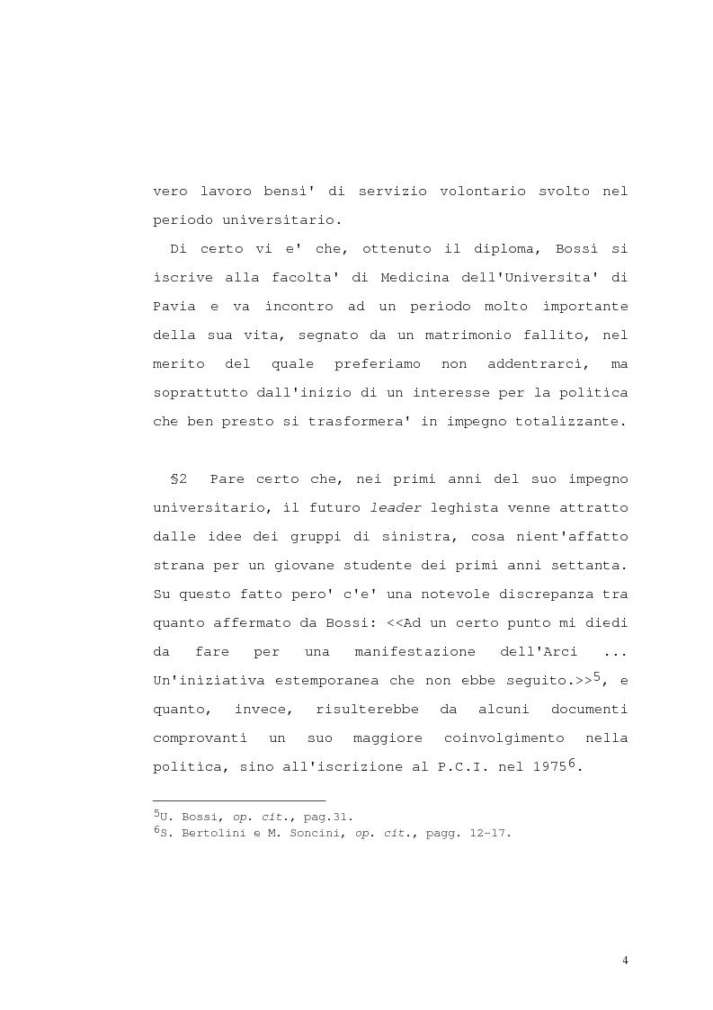 Anteprima della tesi: Lega Nord e problematiche sindacali, Pagina 9