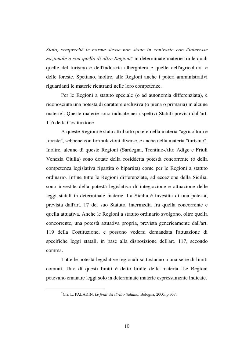 Anteprima della tesi: Imprenditore agrituristico e fallimento, Pagina 10