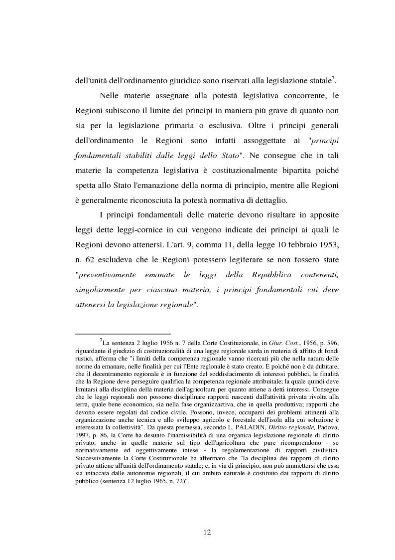 Anteprima della tesi: Imprenditore agrituristico e fallimento, Pagina 12