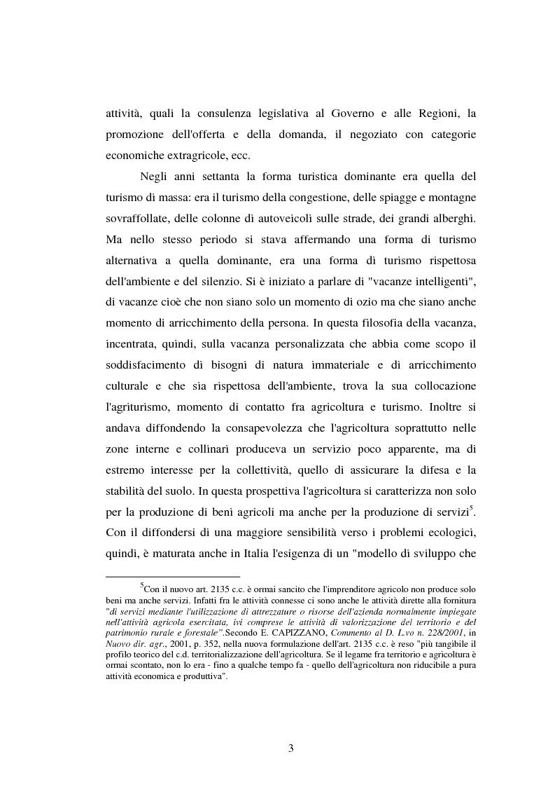 Anteprima della tesi: Imprenditore agrituristico e fallimento, Pagina 3