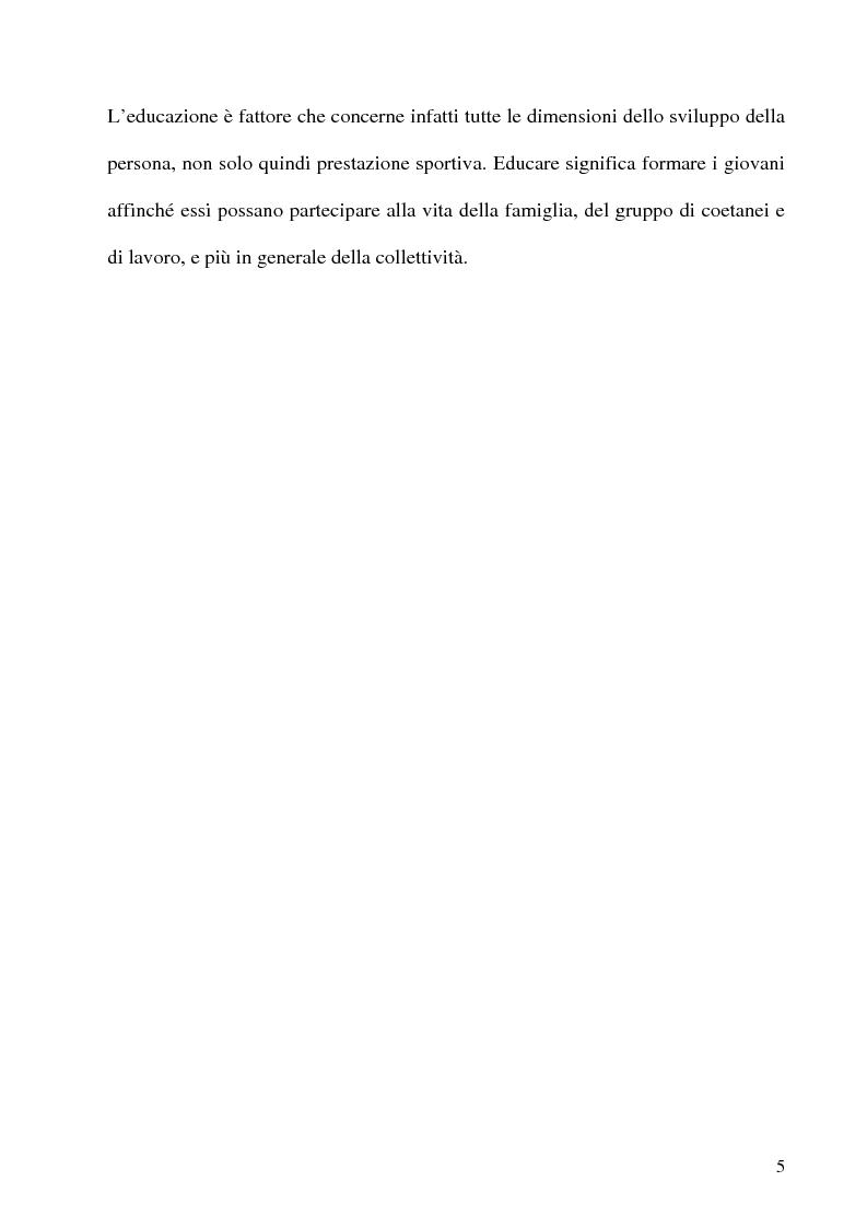 Anteprima della tesi: L'educazione al centro della formazione dei giovani calciatori, Pagina 2