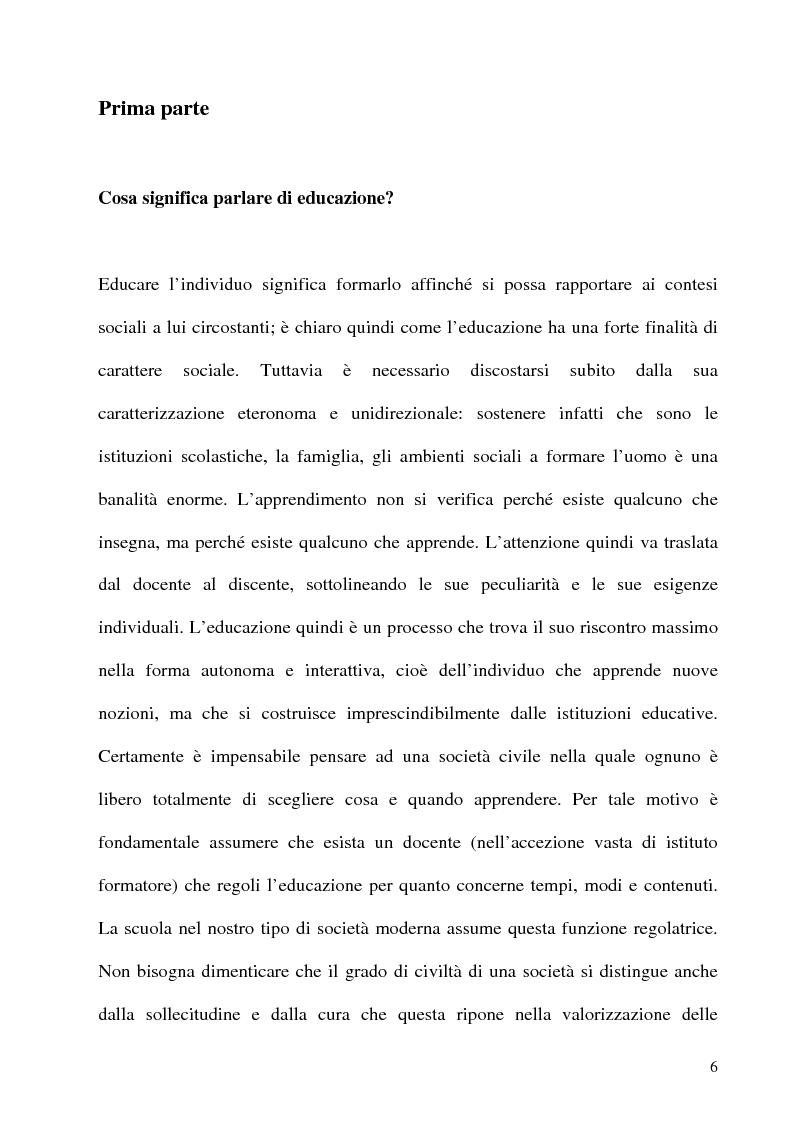 Anteprima della tesi: L'educazione al centro della formazione dei giovani calciatori, Pagina 3