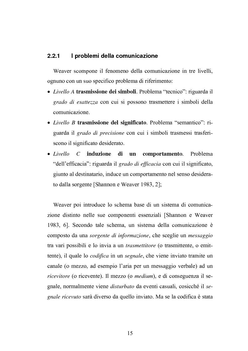 Anteprima della tesi: Interattività e nuove tecnologie: il caso di Internet, Pagina 13
