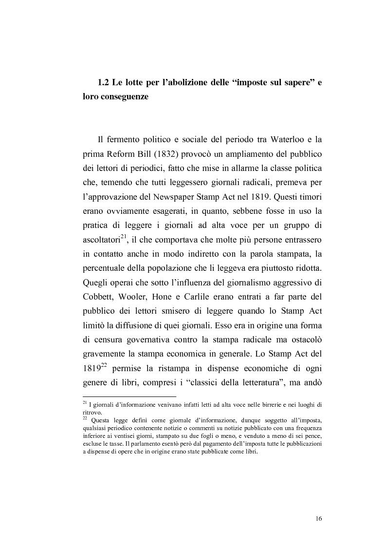 Anteprima della tesi: Una rivista vittoriana inglese: Household Words, Pagina 14
