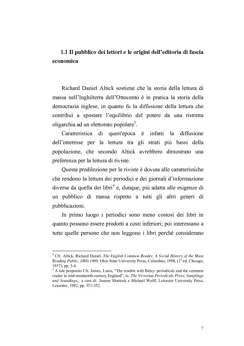 Anteprima della tesi: Una rivista vittoriana inglese: Household Words, Pagina 5