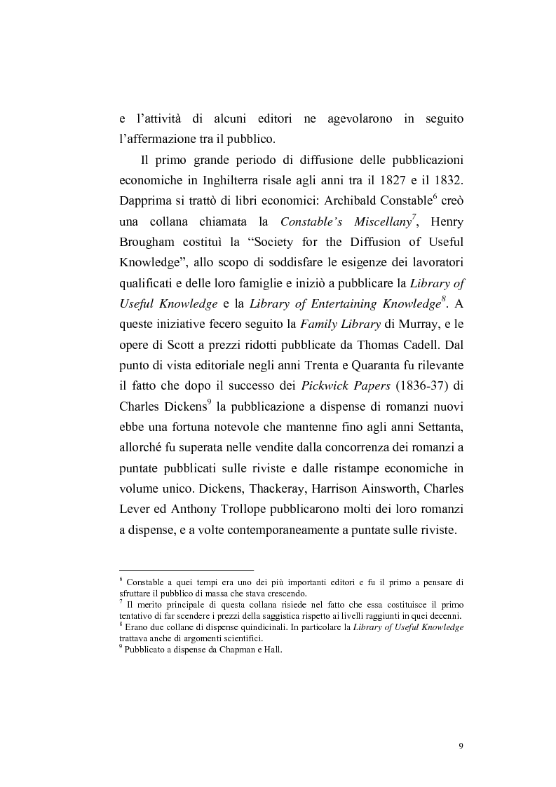 Anteprima della tesi: Una rivista vittoriana inglese: Household Words, Pagina 7