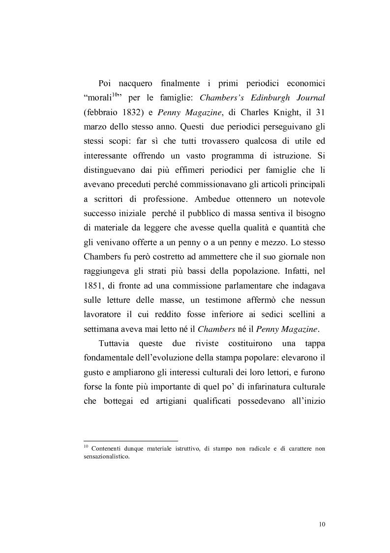 Anteprima della tesi: Una rivista vittoriana inglese: Household Words, Pagina 8