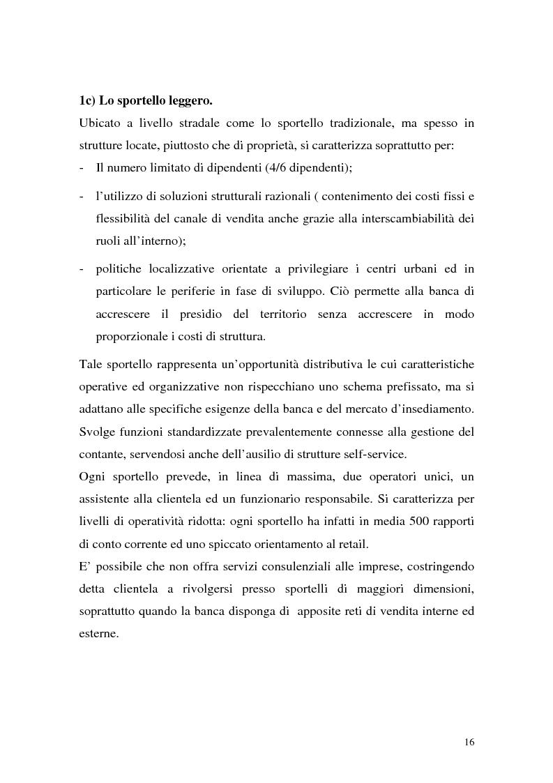 Anteprima della tesi: La rete dei promotori finanziari, Pagina 13
