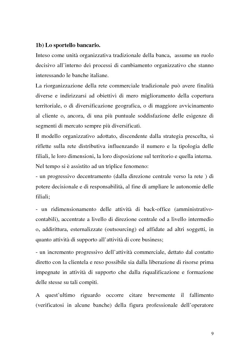Anteprima della tesi: La rete dei promotori finanziari, Pagina 6