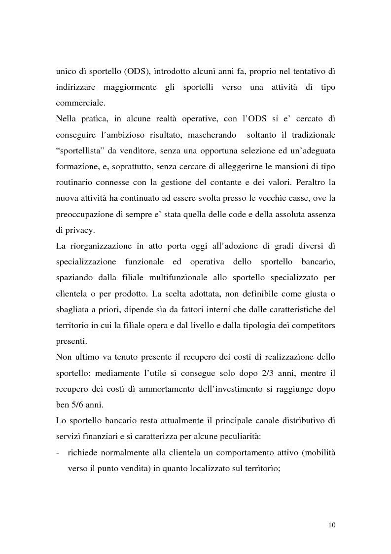 Anteprima della tesi: La rete dei promotori finanziari, Pagina 7