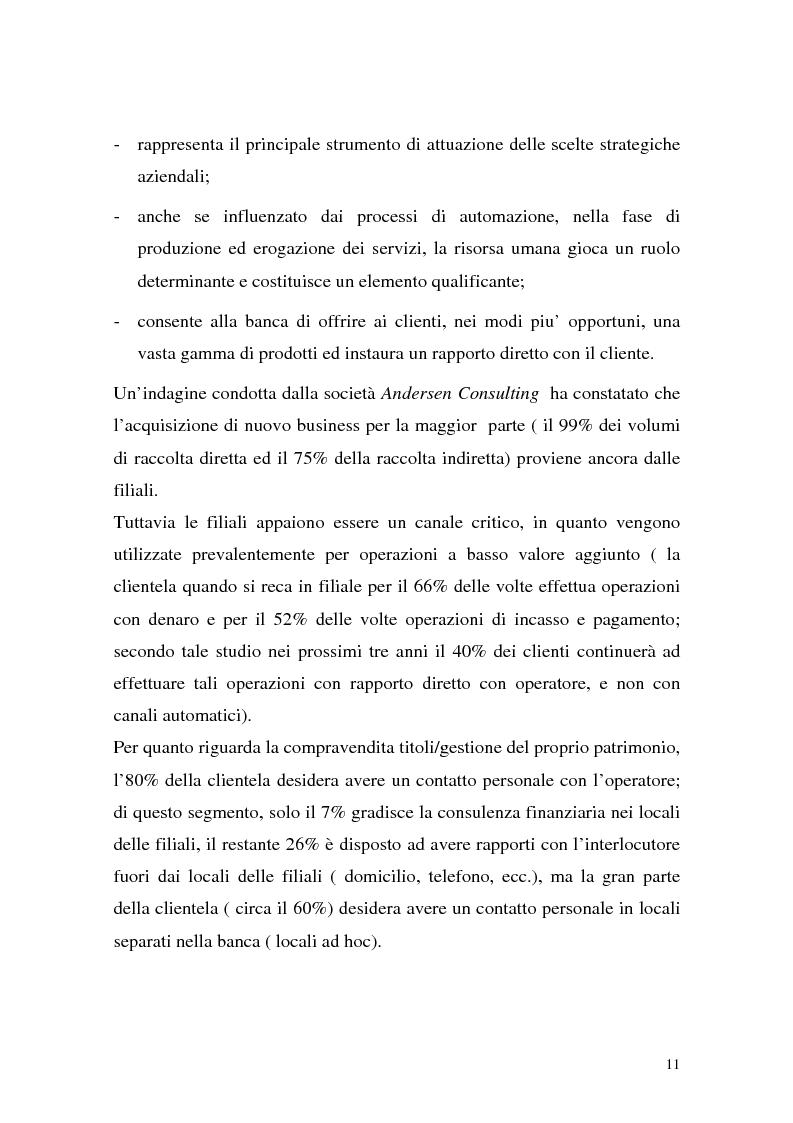Anteprima della tesi: La rete dei promotori finanziari, Pagina 8