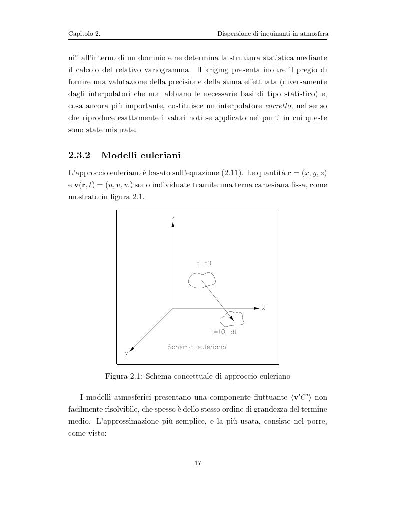 Anteprima della tesi: Modellazione numerica di processi di dispersione in atmosfera: applicazione alla conca di Bolzano, Pagina 13