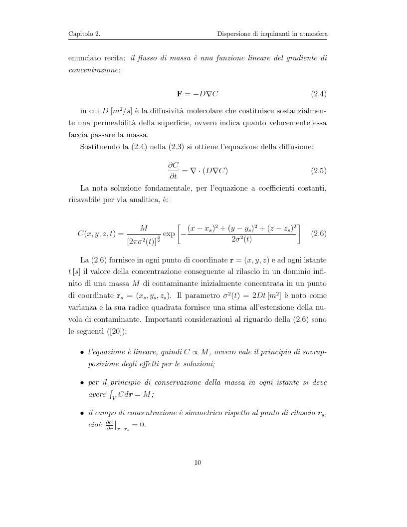 Anteprima della tesi: Modellazione numerica di processi di dispersione in atmosfera: applicazione alla conca di Bolzano, Pagina 6